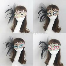 Sexy Women Venetian Feather Masquerade Ball Carnival Eye Mask Party Fancy Dress