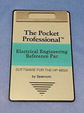 Electrical Engineering Reference Card for HP 48GX Calculators