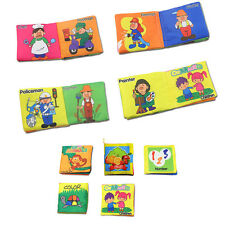 New Kids Intelligence Development Cloth Book Toy Baby Cloth Book Educational Toy