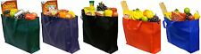 Novel Box® Eco-Friendly Jumbo Reusable Recyclable Non-Woven Grocery Tote Bags