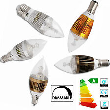 Dimmable 6W 8W 10W Candelabra Lights E12 E14 E27 B22 B15 LED Candle Bulb Lamps