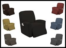 STRETCH FURNITURE SLIPCOVER RECLINER COVER LAZY BOY MANY COLORS TO CHOOSE FROM!!