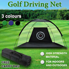 Portable Golf Training Net Soccer Cricket Target Training Practice Driving Tent