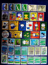 Small used stamps collection of Japan.