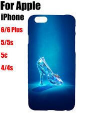 Disney Princess Cinderella Glass Slipper Pattern Hard Case Cover For iPhone iPod