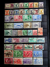 Small used stamps collection of India.