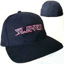 * SLAYER - EMBROIDERED LOGO - OFFICIAL BASEBALL CAP hat