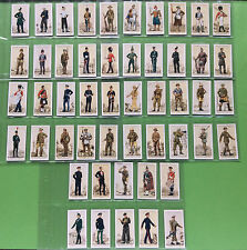 1939 John Player Cigarette Cards - Uniforms of the Territorial Army - Set of 50