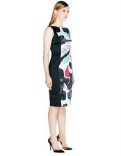 BNWT CUE Abstract Floral Pencil Dress Sz 6 RRP$249