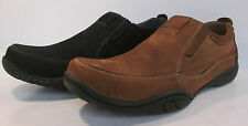SALE WAS NOW Mens A1104 nubuck leather slip on shoes By Maverick