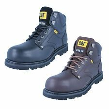 Mens Grouser St leather steel toe cap boot by Caterpillar