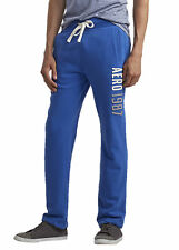 AEROPOSTALE MENS SWEAT PANTS SLIM STRAIGHT ATHLETIC SWEATS AERO NEW YORK
