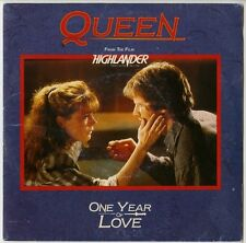 QUEEN : SINGLE - ONE YEAR OF LOVE - FRANCE 1986