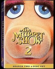 THE MUPPET SHOW 2 - SEASON TWO - 4 DISC SET  - REGION 1  (USA)