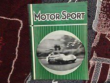 MOTOR SPORT MAGAZINE - FEBRUARY 1958 - MIKE COSTIN LOTUS BRANDS HATCH COVER