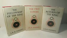 Lord of the rings trilogy. J.R.R.Tolkien. 1st edition set. Superior condition.
