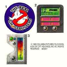 REPLACEMENT STICKER SHEET VINTAGE KENNER REAL GHOSTBUSTERS GHOST GRAB-A-METER