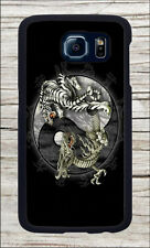 TIGER AND DRAGON WITH  YIN AND YANG SYMBOL CASE FOR SAMSUNG GALAXY S6 -gnj8Z