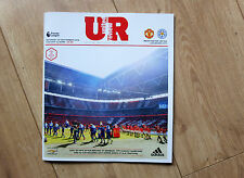Manchester United v Leicester City programme 24/9/2016
