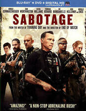 Sabotage (Blu-ray/DVD, 2014, 2-Disc Set, Includes Digital Copy; UltraViolet)