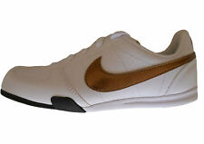 NIKE Baby Shoe Boy Sprint Brother GS/PS 314473/121 White/Gold Leather