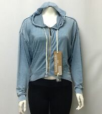 NWT Hoodie Buddie Womens Sweat Shirt built in Headphones Cotton/Poly Small and M