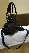 $1300 NWT Marc Cecelia Quilted Patent Crossbody/bag with black Patent/Silver H/W