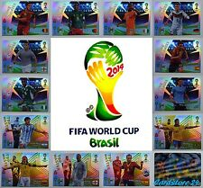 Panini Adrenalyn XL # Fifa World Cup WC 2014 # Brazil - All Cards Selectable