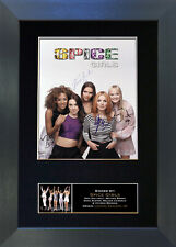 SPICE GIRLS Signed Mounted Autograph Photo Prints A4 301