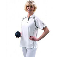 TAYLOR ACE XV1 LADIES BOWLS TOP - SILVER TRIM - various sizes. NEW FOR 2016 .