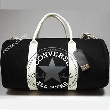 CONVERSE CHUCK TAYLOR ALL STAR NEW MEDIUM DUFFEL BAG/GYM BAG NWT BLACK&OFF WHITE