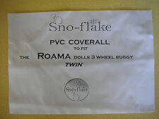 Dolls Pram & Buggy RAINCOVERS Top Quality Brand New made in the UK