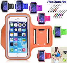 Cycling Running Jogging Gym Excercise Armband Holder For Various Mobile Phones