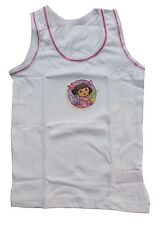 Girls Dora The Explorer Vests Underwear 2 Pack