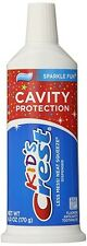Kid's Cavity Protection Neat Squeeze Sparkle Fun Flavor Toothpaste 6 Oz (Pack O