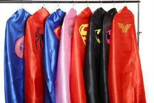 Adult Teen Superhero Cape, Batman, Superman/Girl, Wonder Woman, Bat Girl, Robin