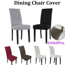 Stretch Dining Chair Cover Washable Removable Slipcover Dinning Cover 4/6/8 Pcs