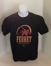 FERRET RECORDS Hammer Logo Officially Licensed T-Shirt NEW
