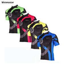 Men's Cycling Jersey Outdoor Sportwear Bike Bicycle Short Sleeve Cycling Jersey