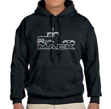 Mack Superliner Truck Classic Outline Design Hoodie Sweatshirt FREE SHIP