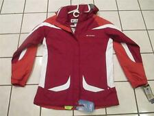 NWT WOMENS COLUMBIA RED  WINTER JACKET SIZE SMALL (#145)