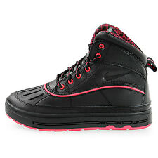 524876-001 Nike ACG Woodside II GS Black / Black-Fireberry New In Box