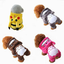 NEW Pet Clothes Dog Pikachu Totoro Sweater Hoodie Cat Coat Puppy Apparel*Costume