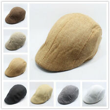 Interesting Herringbone Flats Caps Peaked Racing Hat Beret Country Golf Newsboy