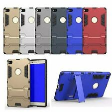 For Huawei P8 G8 P9 Lite Heavy Duty Hybrid Armor Rugged Stand Holder Case Cover