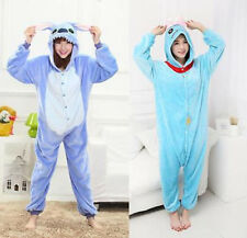 New Disney Lilo&Stitch Scrump Kigurumi Pajamas Adults Cosplay Onesie Sleepwear**