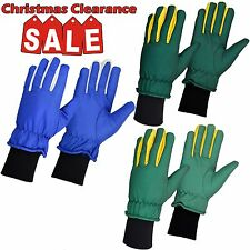 Winter Outdoor Sports Gloves Mens Motorcycle Driving Ski Snowboarding Knit Cuff