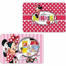 Disney 3D Minnie Mouse Daisy Duck 2 Motifs Place Mat Coasters New