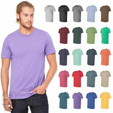Bella + Canvas Unisex Short Sleeve Jersey Plain Blank T-Shirt Cotton 3001 XS-4XL