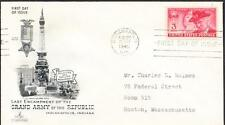US CIVIL WAR GRAND ARMY OF THE REPUBLIC GAR Stamp 985 First Day Cover FDC